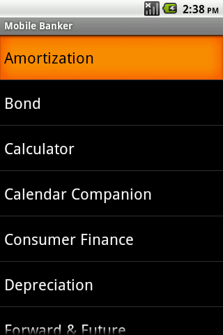 Mobile Banker Android App