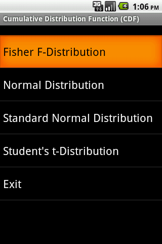 CDF Android App
