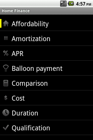Home-Finance-Android-App