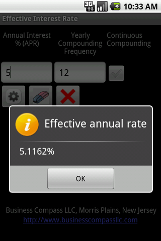 Interest Rate Android App