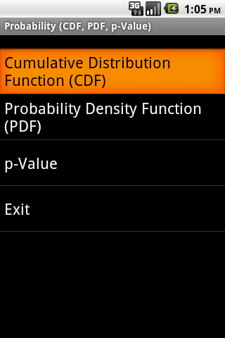 Probability Android
