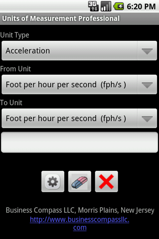 Units of Measurement Android App
